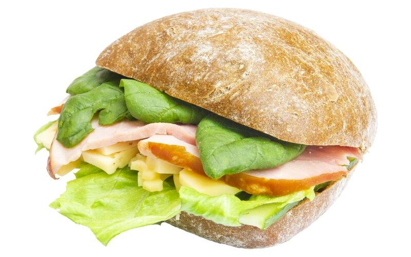 Сэндвич с ветчиной и сыром «Маасдам»