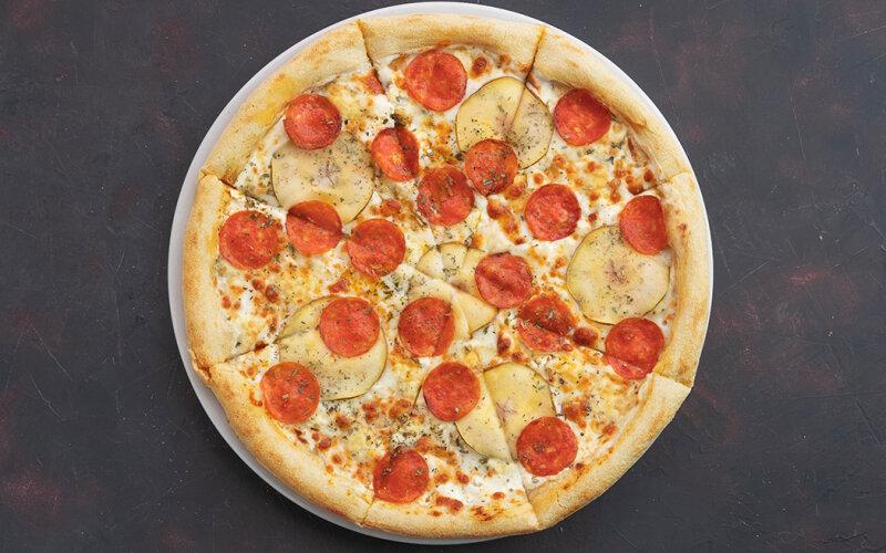 Пицца «Дор-блю пеперони»