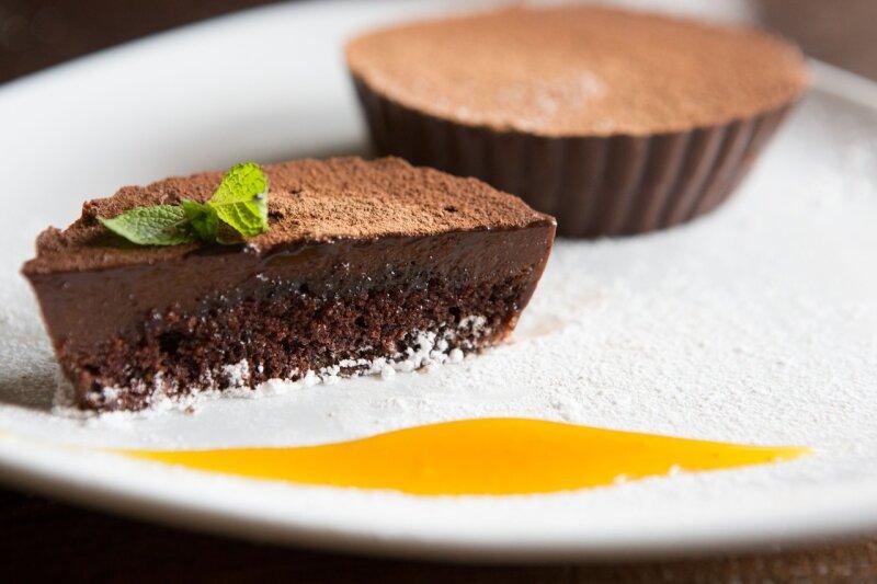 Десерт «Шоколадно-банановый»