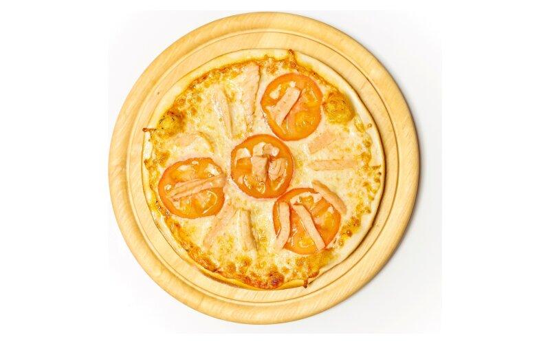 Пицца с сёмгой
