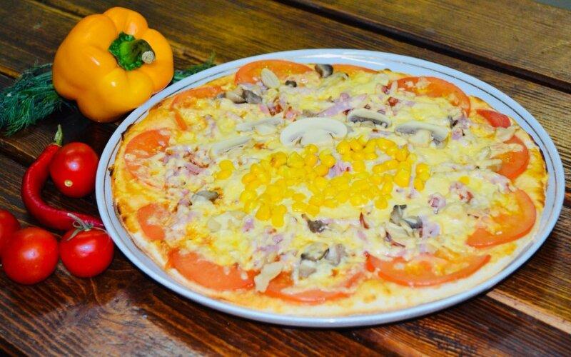 Пицца «Солнечная»
