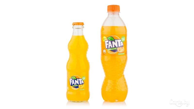 Напиток газированный Fanta «Апельсин»