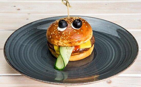 Чизбургер «Лягушка»