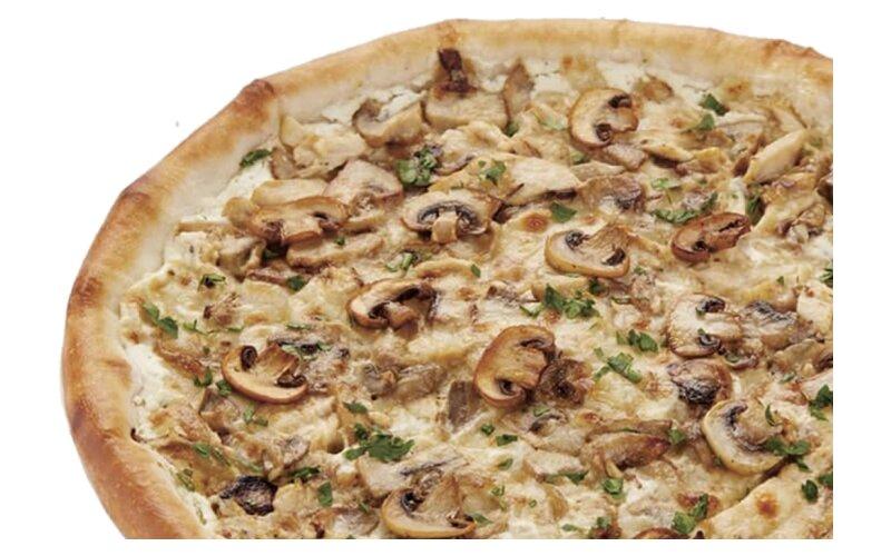 Пицца «Жюльен» на пышном тесте