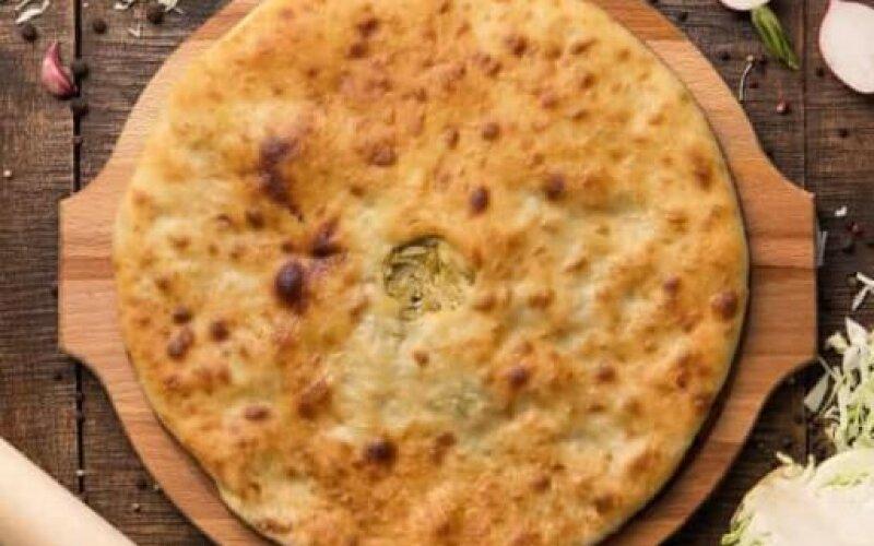 Пирог веганский с капустой и сыром «Тофу»