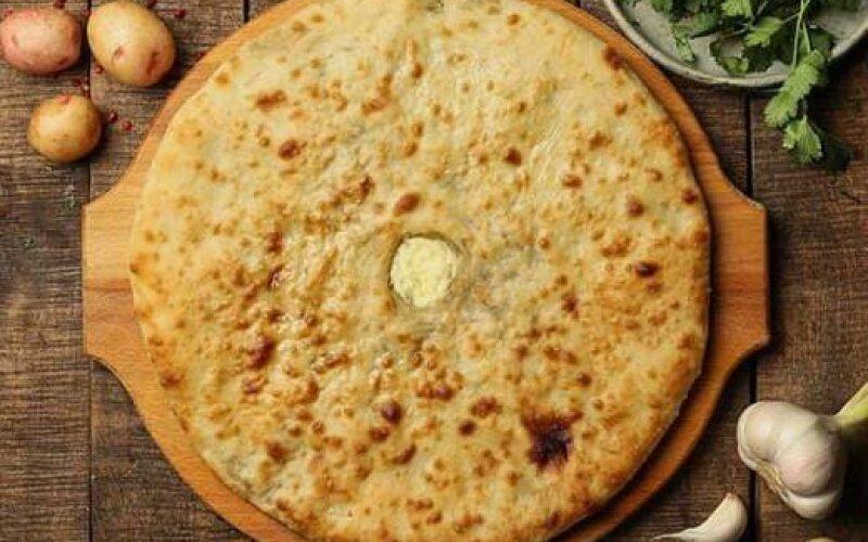 Пирог веганский с картофелем и сыром «Тофу»