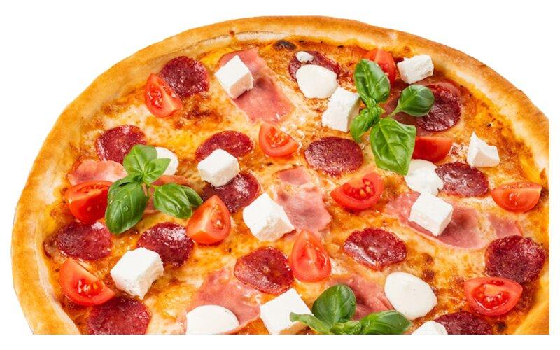 Пицца «Фирменная» на пышном тесте