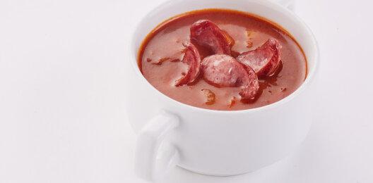 Суп «Харчо» с «Баварскими» колбасками