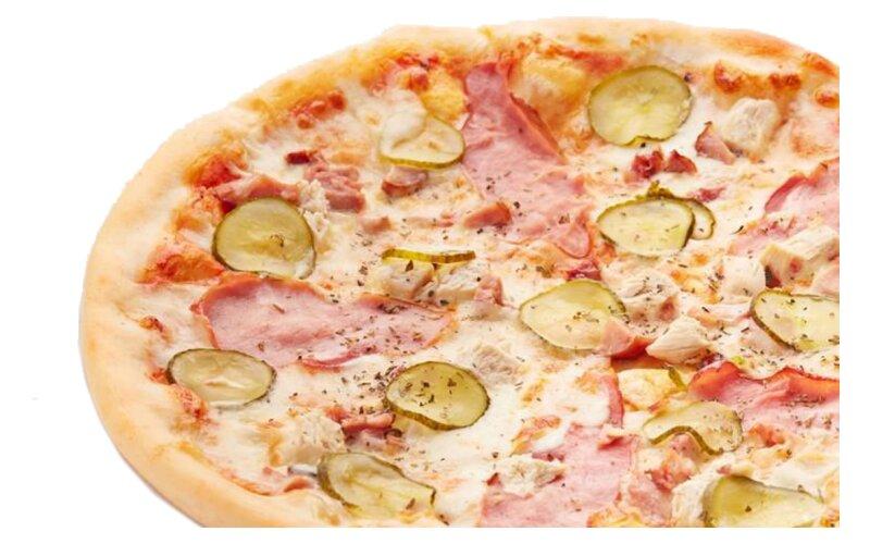 Пицца «Куриная» на пышном тесте