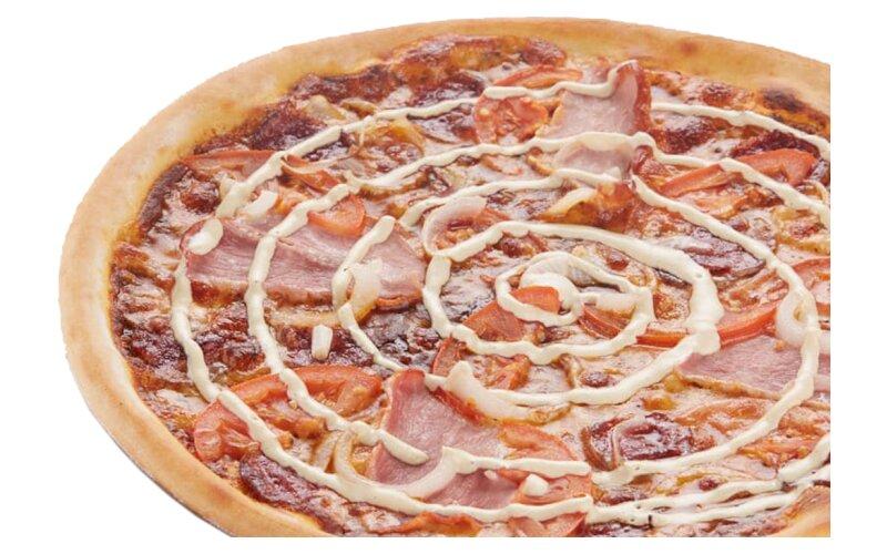 Пицца «Кавказская» на пышном тесте