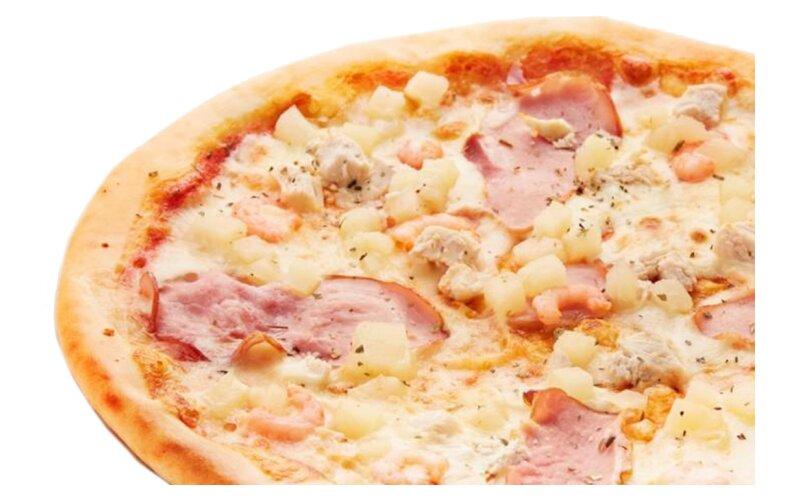 Пицца «Сицилийская» на пышном тесте