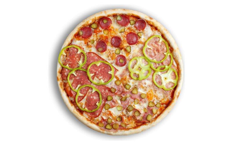Пицца «Четыре мяса»