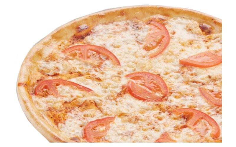 Пицца «Маргарита» (на пышном тесте)