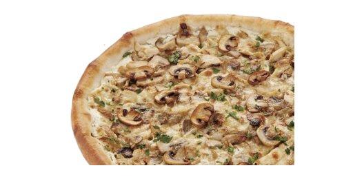 Пицца «Жюльен» (на тонком тесте)