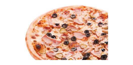 Пицца «Пикантная» (на тонком тесте)