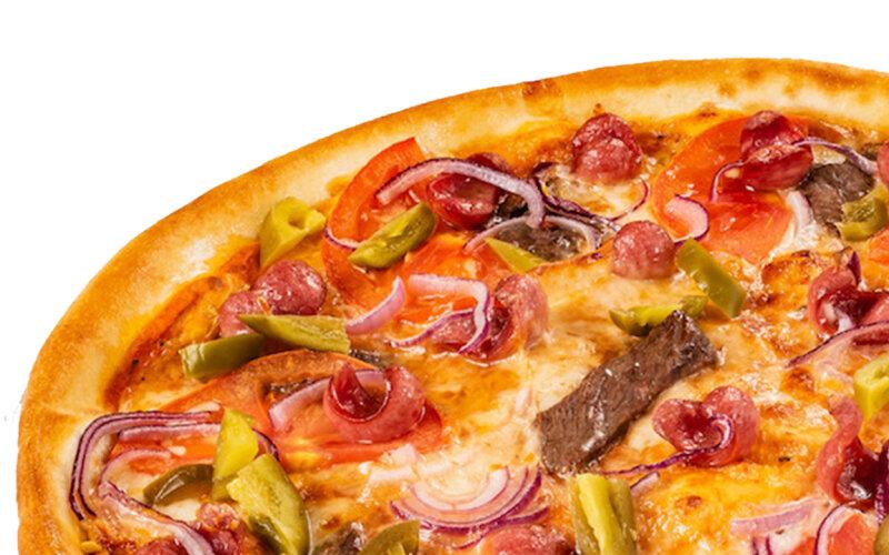 Пицца «Мексиканская» (на тонком тесте)