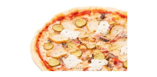 Пицца «Динамо» (на пышном тесте)