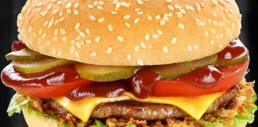 Брестбургер со свиной котлетой