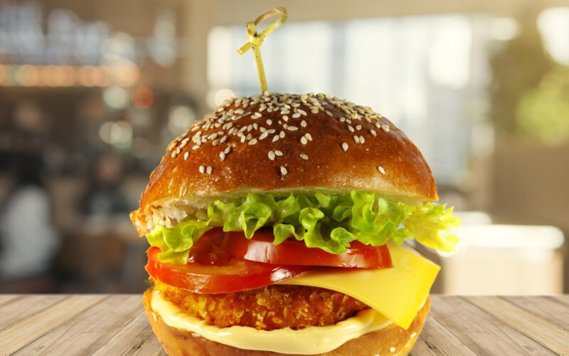 Шеф-бургер куриный