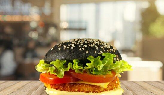 Black burger с куриной котлетой
