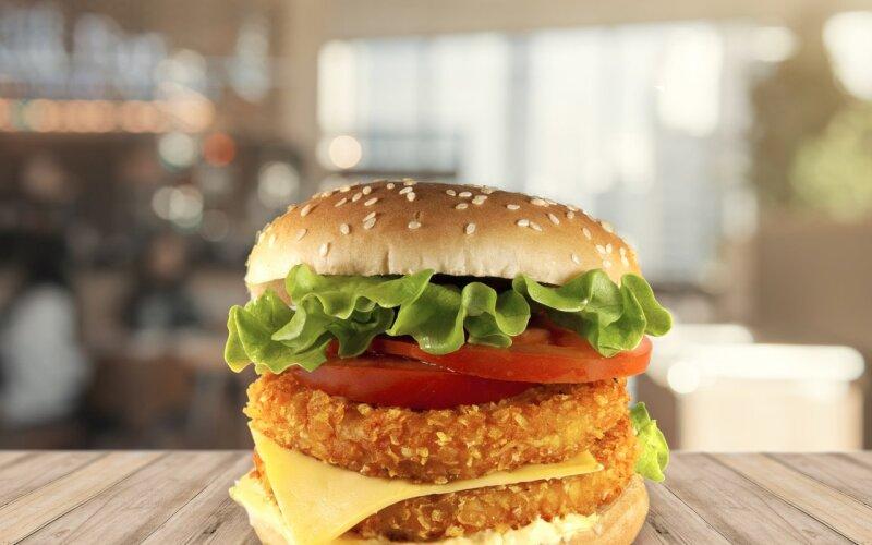 Чикенбургер двойной