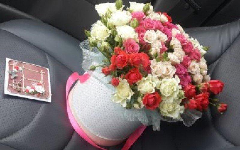 Шляпная коробка «Романтика»
