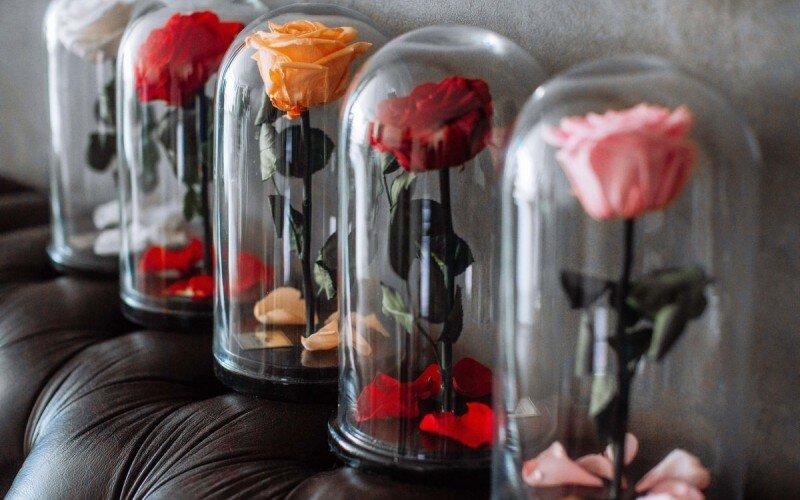 Стабилизированная Роза или «Вечный Цветок»