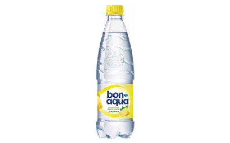 Вода питьевая BonAqua «Лимон»