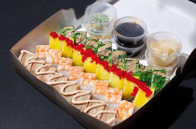 Суши-сет «Сытый самурай»