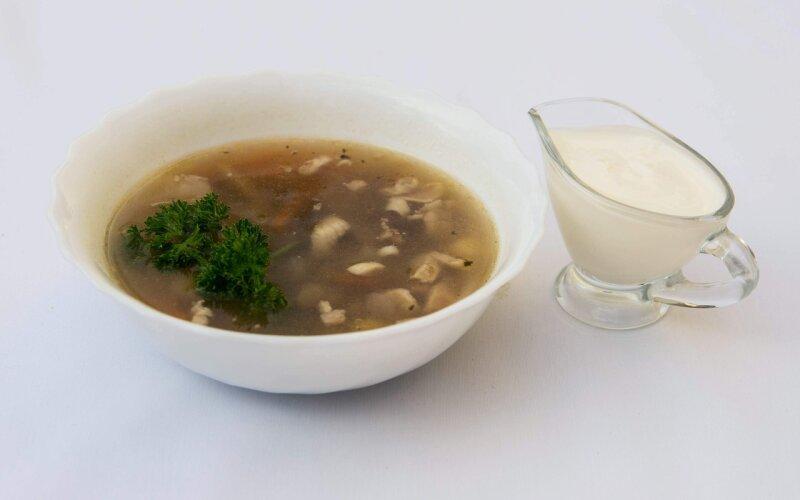 Суп «Скарб лясуна»