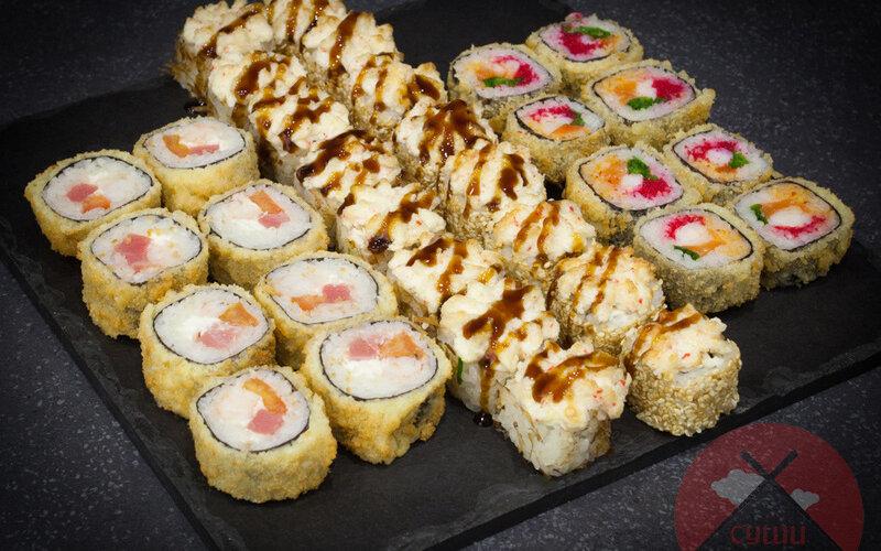 Суши-сет «Хот-микс»