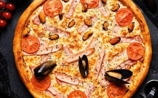 Пицца «Две стихии»