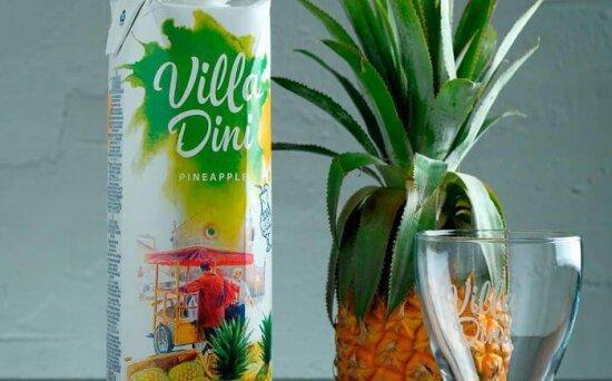 Сок Villa dini ананасовый