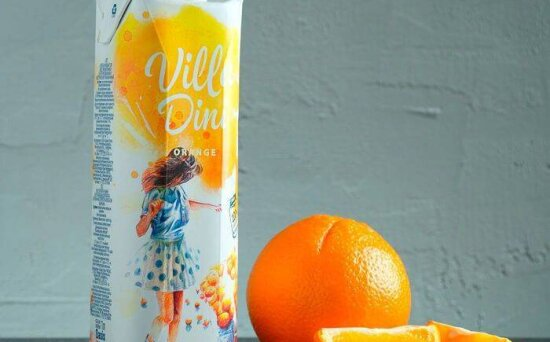 Сок Villa Dini апельсиновый