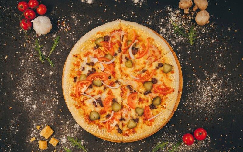 Пицца «Чизбургер»