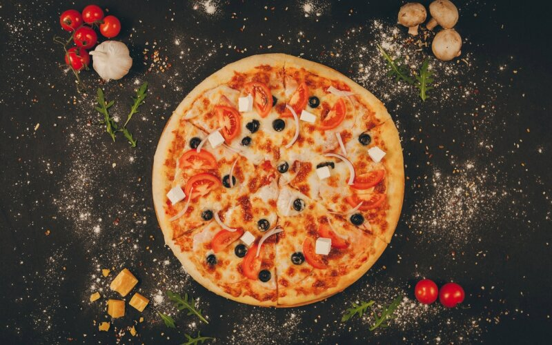 Пицца «Греческая»