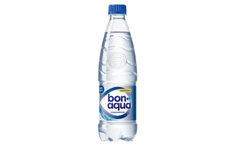 Вода «BonAqua» газированная