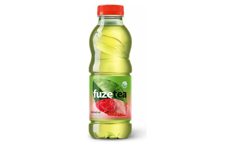 Напиток чайный Fuze Tea «Клубника и малина»