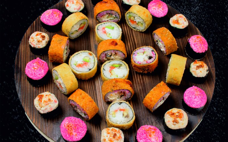 Суши-сет «Хот микс»