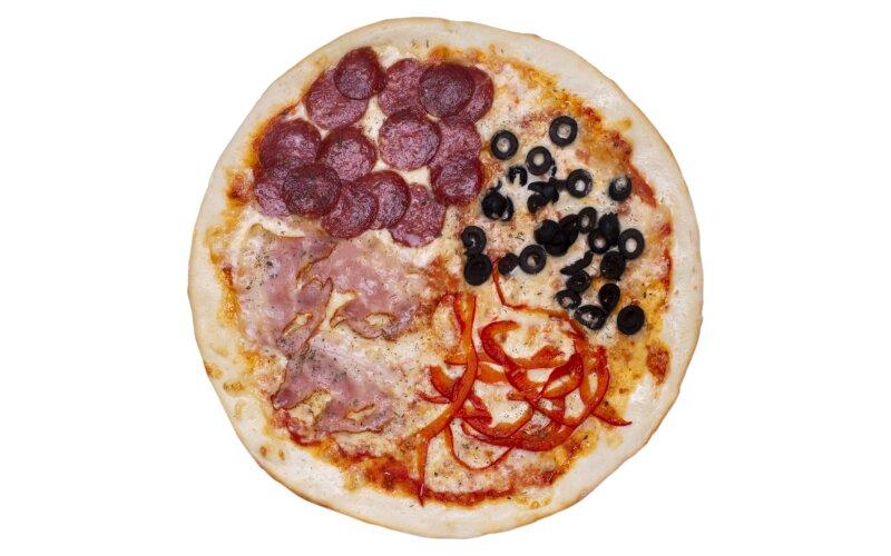 Пицца «Просто четыре сезона»