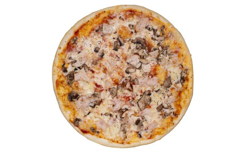 Пицца «Просто курица с грибами»