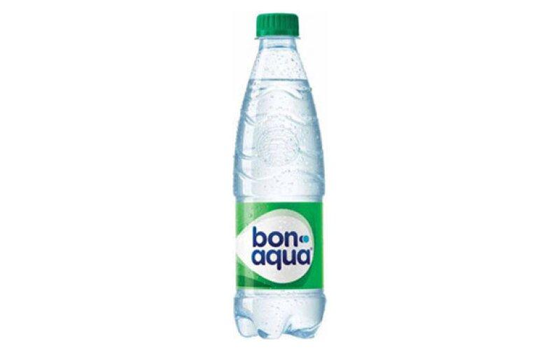 Вода «BonAqua» среднегазированная