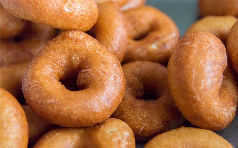 Пончики с начинкой (весовое блюдо)
