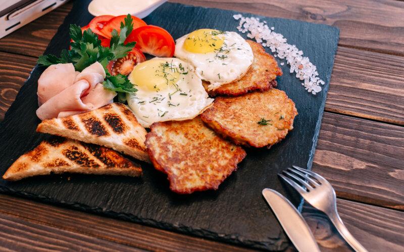 Белорусский завтрак