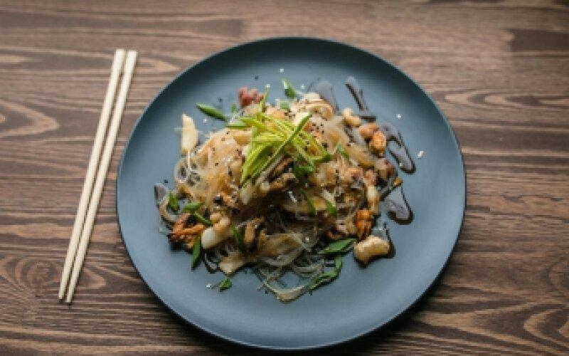 Лапша «Фунчоза» с морепродуктами