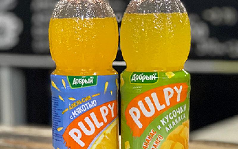 Напиток «Добрый Палпи» со вкусом «Ананас-манго»