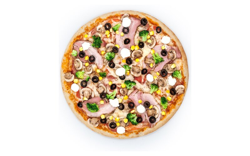 Пицца «Барселона»