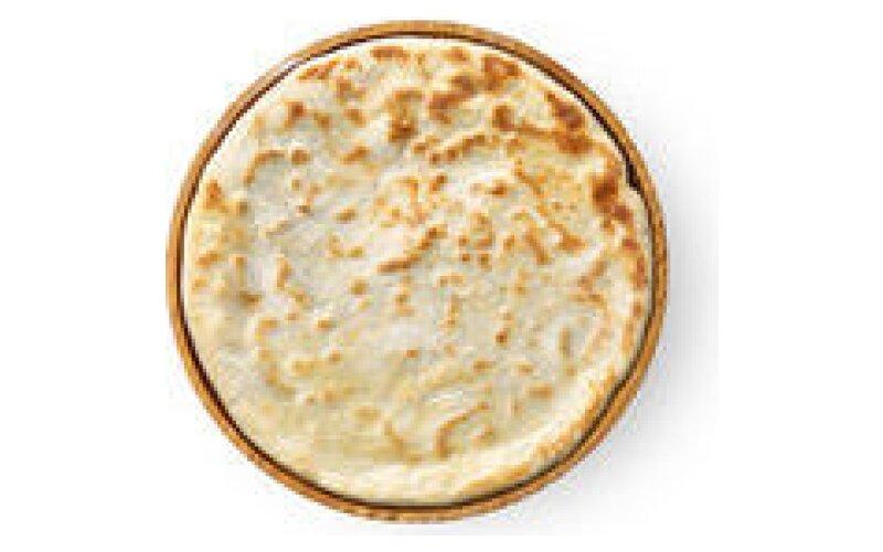 Пшеничная лепёшка Naan с чесноком