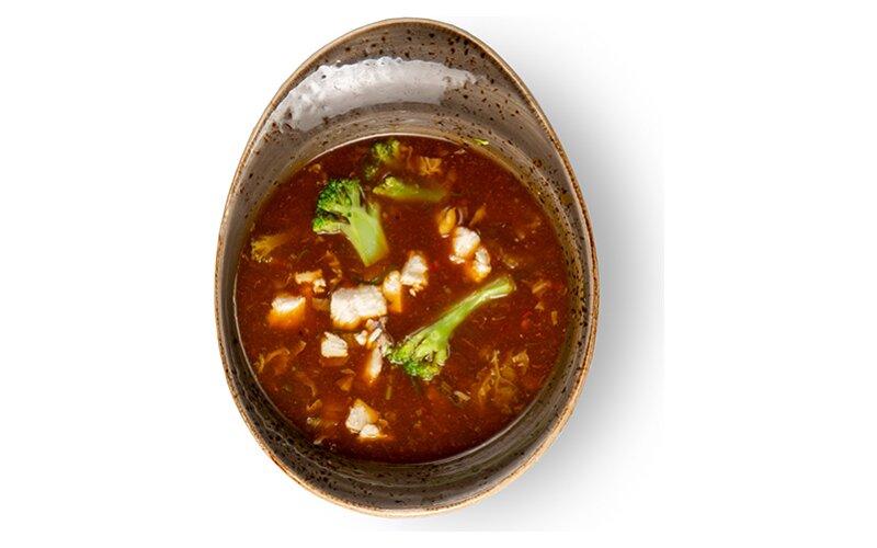 Суп «Том Ям» с курицей