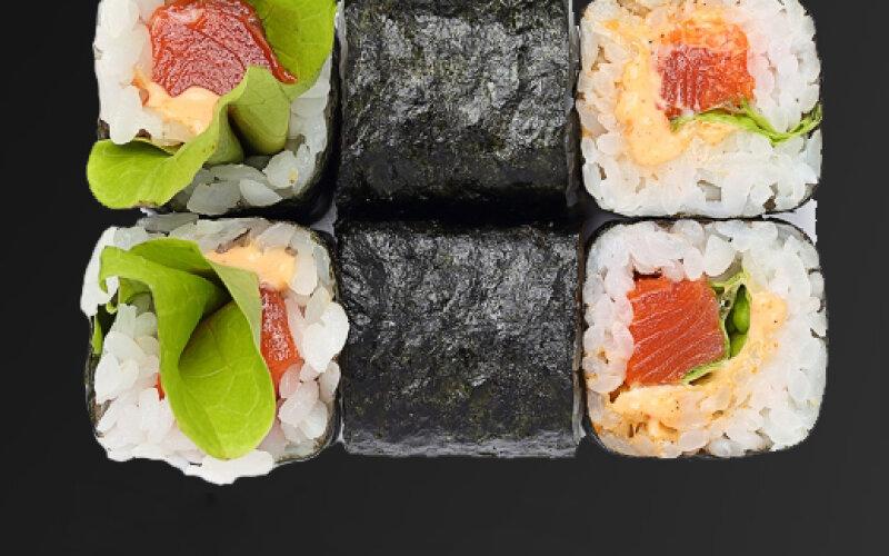 Ролл «Сочный лосось»